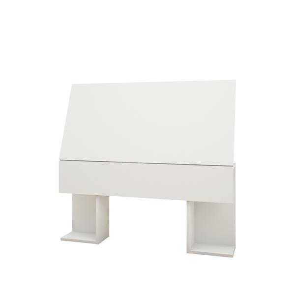 Nexera Paris 4 Piece White Twin Bedroom Set