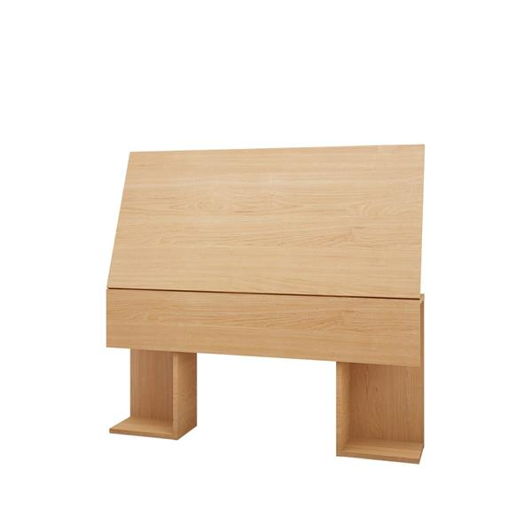 Nexera Nordik 4 Piece Maple and Walnut Twin Bedroom Set