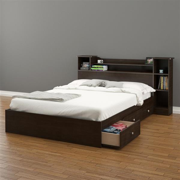 Nexera Pocono 2 Piece Espresso Full Bedroom Set
