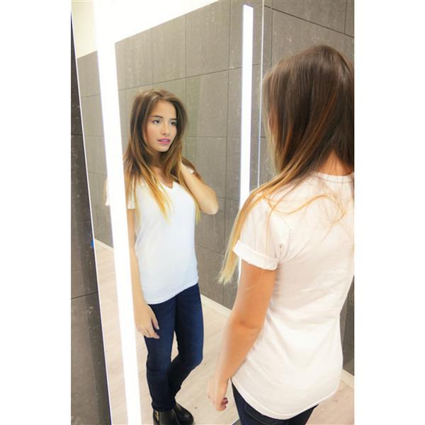"""Miroir Verano à éclairage DEL intégré, 65""""x 24"""", 3000 K, 24V"""