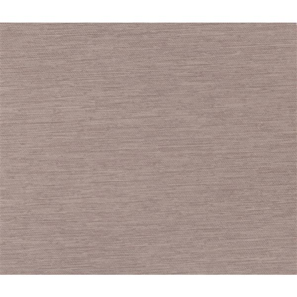 Sun Glow 66-in x 72-in Brown Privacy Roller Shade With Valance