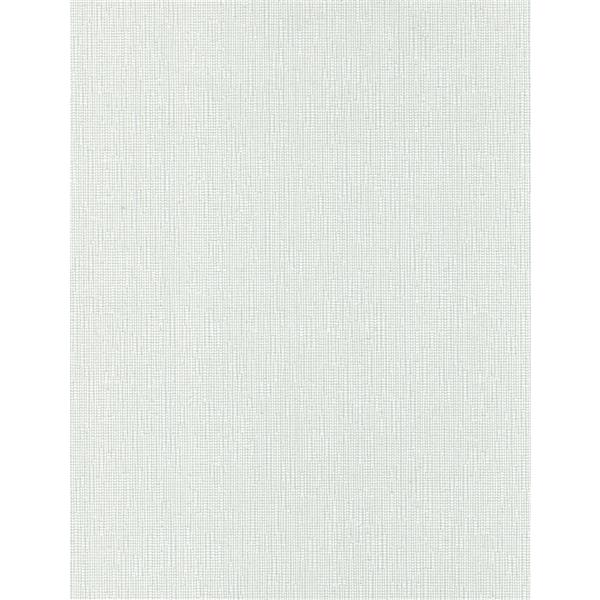 Sun Glow 53-in x 72-in White Chainless Woven Roller Shade With Valance