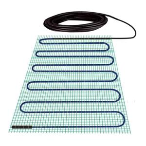 WarmlyYours TempZone™ 5-in x 2.7-in 120V Green Shower Mat
