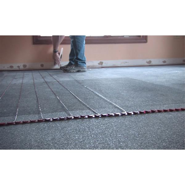 WarmlyYours Tempzone™ 0.25-in x 155-in 240V Red Floor Heating Cable