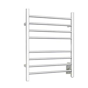 WarmlyYours Sierra 24-in Polished Chrome 8-Bar Towel Warmer with WeMo Switch