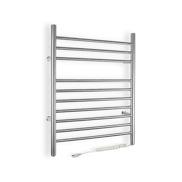 WarmlyYours Infinity 24-in Brushed Steel 10-Bar Towel Warmer with WeMo Switch
