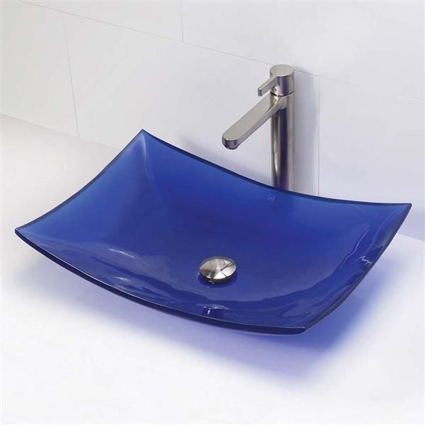 Decolav Darya Above-Counter Rectangular Depth Sink