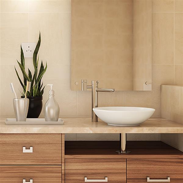 Decolav Ryenne Above-Counter Sink - Round - White