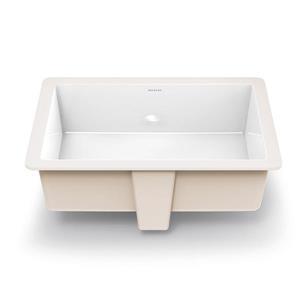 Lilli Classically Redefined Undermount Bathroom Sink Rectangular White