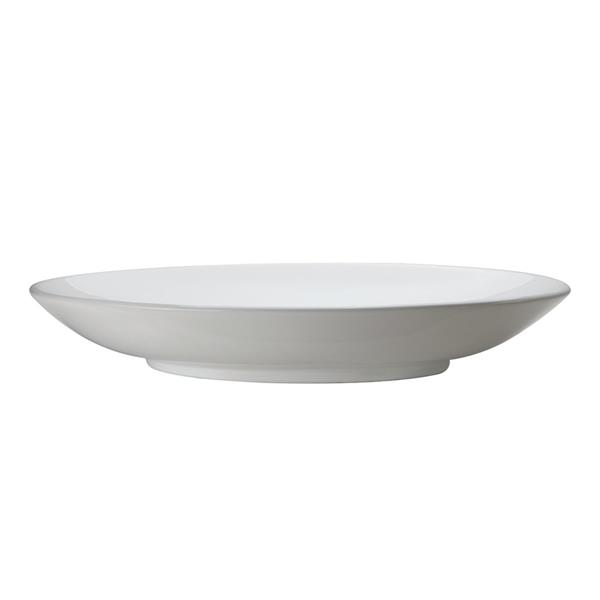 Decolav Lavender Above-Counter Oval White Sink