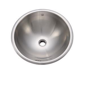 Teanna Sink - Round - Brushed