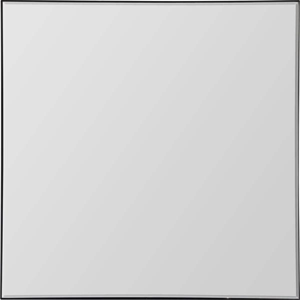 Notre Dame Design Greer Mirror - 35.5-in x 35.5-in- Metal -Black