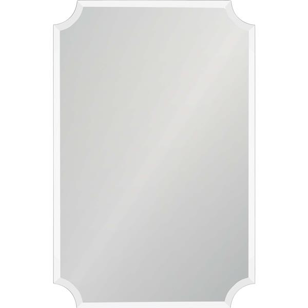 Notre Dame Design Sadie Mirror - 24-in x 36-in- Glass - Clear