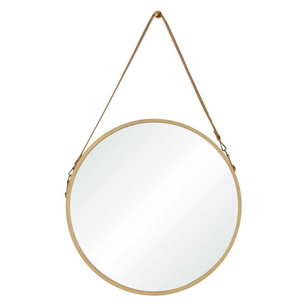 Notre Dame Design Cupola Mirror - 23.75-in x 38.75-in- Wood