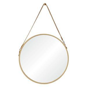 "Miroir Cupola, Notre Dame Design, 23,75"" x 38,75"", bois"