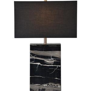 """Lampe Rydell, Notre Dame Design, 23"""", tissu , noir"""