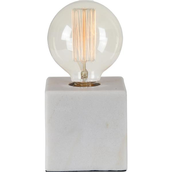 Notre Dame Design Willoughby Lamp - Fabric - White