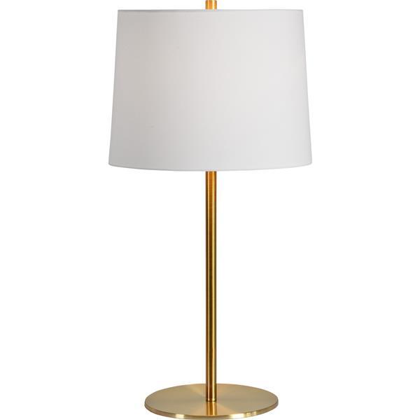 Notre Dame Design Rexmund Lamp - 27-in - Metal - White