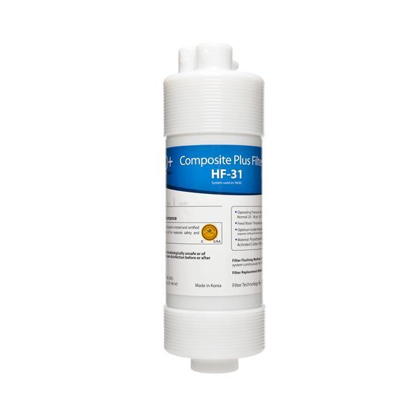 Filtre composite plus H2O+ Cypress, étape 1