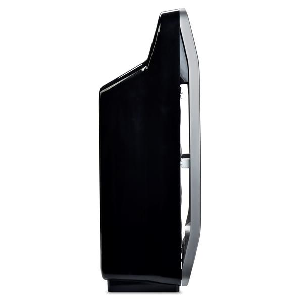 "Purificateur d'air True HEPA O2 + Halo , 13,68"", noir"