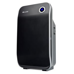 Brondell O2+ Halo True HEPA Three Stage Black 13.68-in  Air Purifier