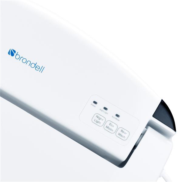 Siège de bidet Swash SE600, 20,7 po, plastique, blanc