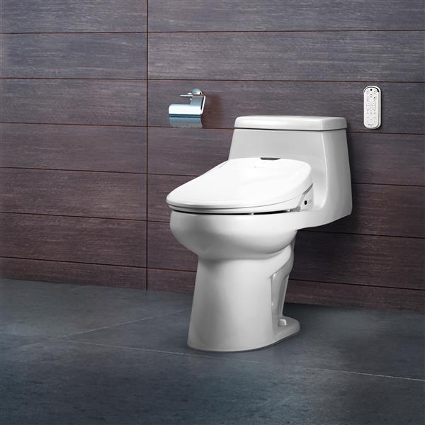 Brondell Swash 1400 Bidet Seat 15.2-in x 19.55-in White