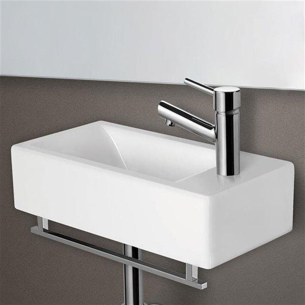 ALFI Brand 17-in Chrome Towel Bar