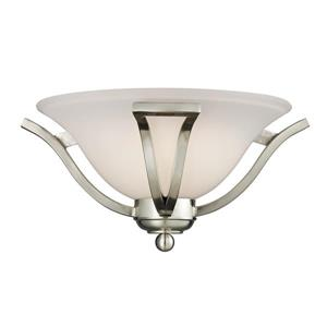 Z-Lite Lagoon Brushed Nickel Wall Sconce