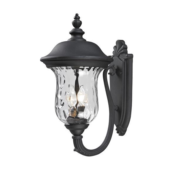 Z-Lite Armstrong 19.50-in Matte 2 Bulb Outdoor Light