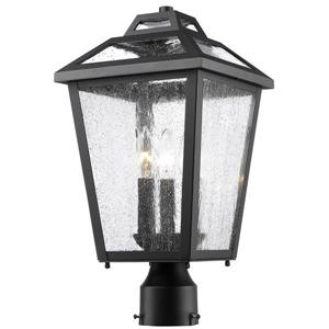 Z-Lite Bayland 3-Light Outdoor Post Mount Light - Black