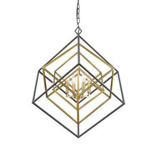 Lustre à 4 lumières Euclid, 29,5