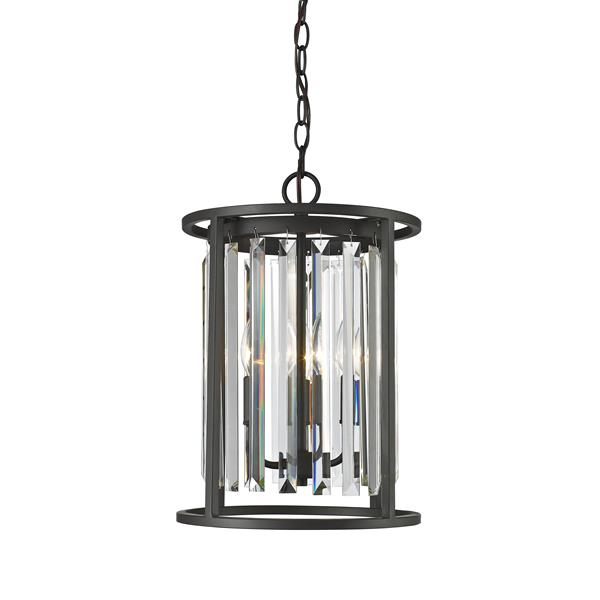 Z-Lite Monarch 3-Light Bronze Chandelier