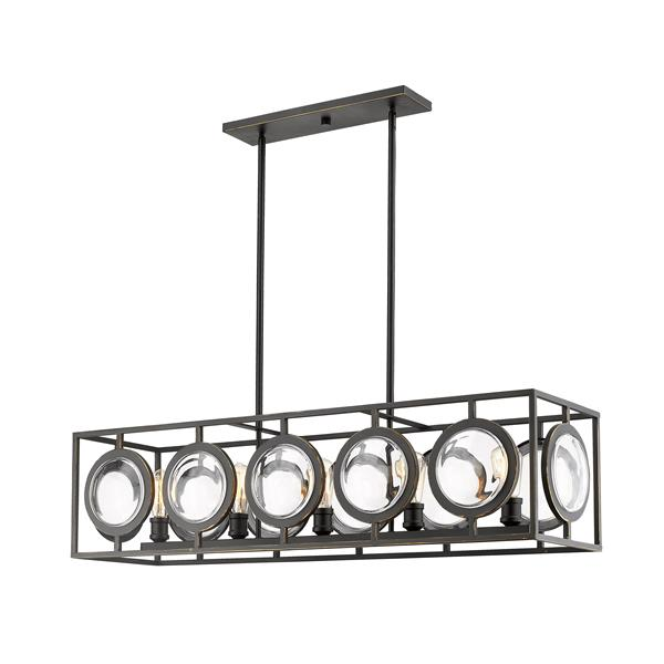 Z-Lite Port 13.5-In Olde Bronze  5-Light Pendant Light