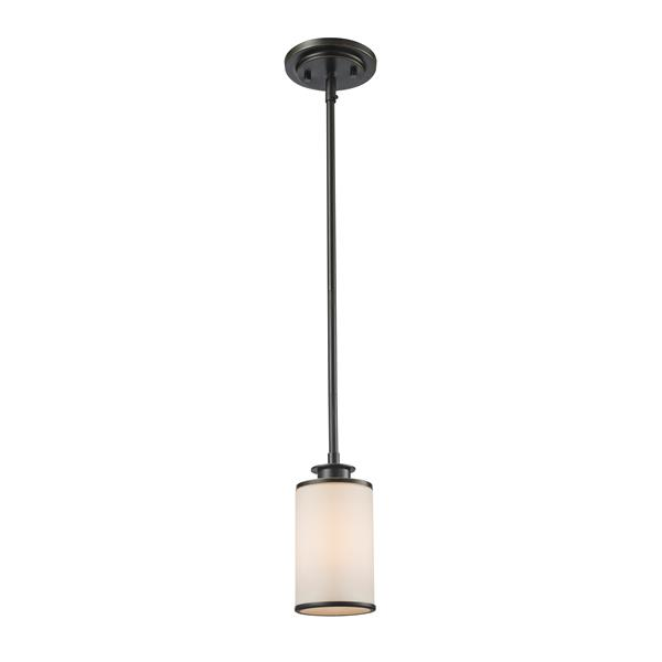 Z-Lite Savannah 4.5-In Olde Bronze 1-Light Mini Pendant Light