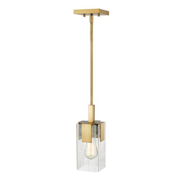 """Petit luminaire à 1 lumière Gantt, 4,75"""", bronze antique"""