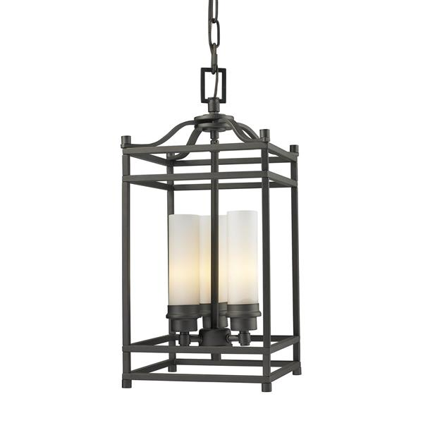 Z-Lite Altadore 8.65-In x 19.30-In Bronze 3-Light Pendant