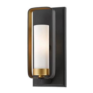 Z-Lite Aideen 10.25-In x 4.50-In x 4-In Light Golden Bronze Wall Sconce