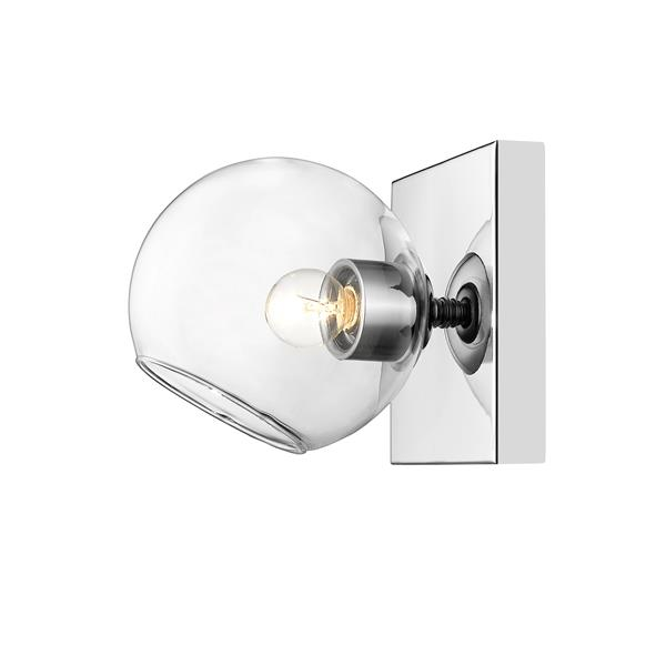 Z-Lite Marquee Chrome Wall Sconce