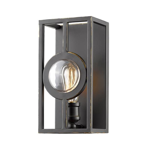 Z-Lite Port Olde Bronze 1 Light Wall Sonce