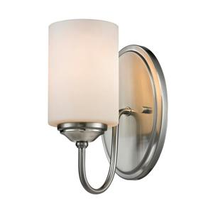 Cardinal Wall Sonce - 1-Light - Brushed Nickel