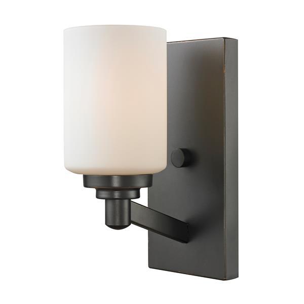 Z-Lite Montego 1 Light Coppery Bronze Wall Sconce