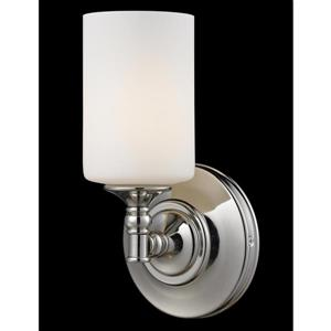Z-Lite Cannondale 11-In x 5.75-In x 5.50-In Chrome Wall Sconce
