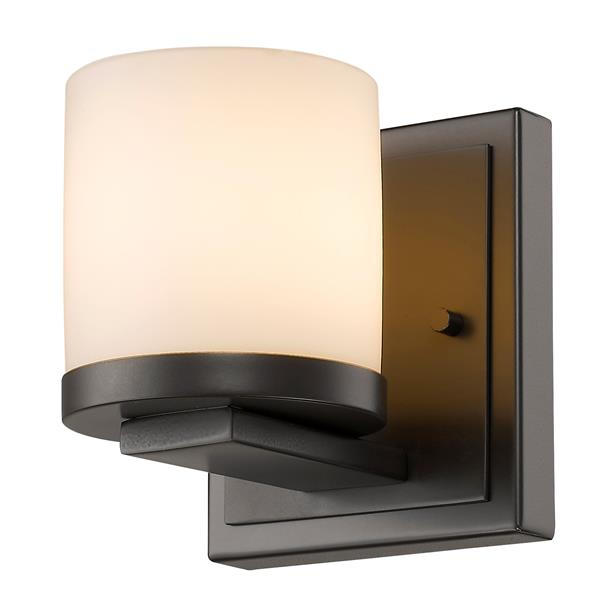 Z-Lite Nori 1 Light Bronze Wall Sconce