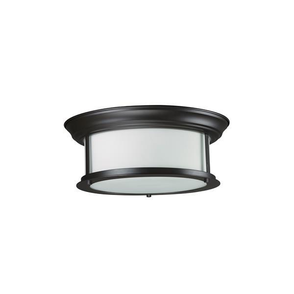 Z-Lite Sonna 2-Light 13.25-in Bronze Ceiling Light