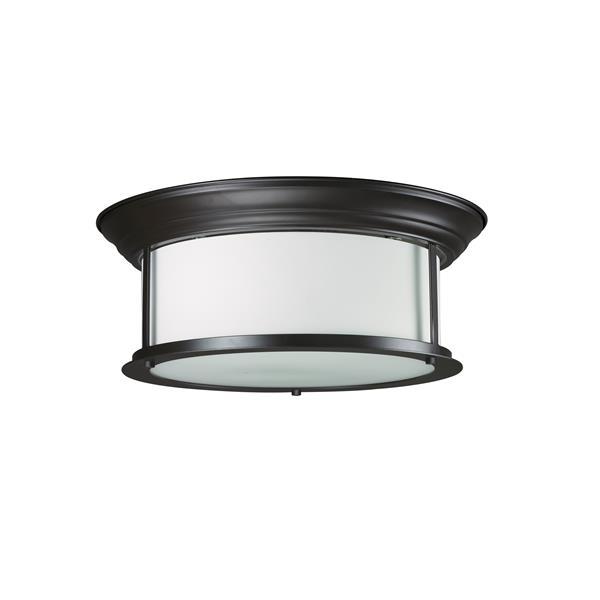 Z-Lite Sonna 3-Light 15.5-in Bronze Ceiling Light