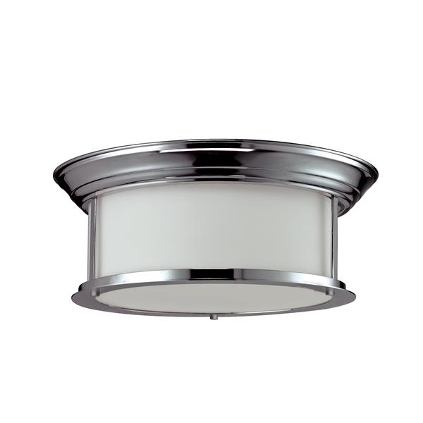 Z-Lite Sonna 3-Light 15.5-in Chrome Ceiling Light