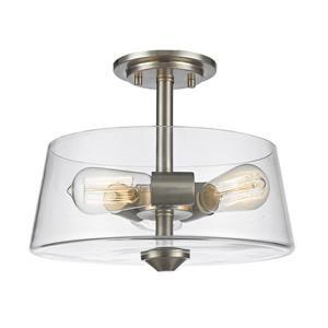 Semi-plafonnier à 3 lumières Annora, 13,75