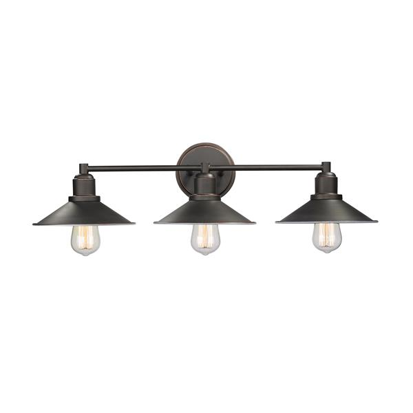 Z-Lite Casa Olde Bronze 3-Light Bathroom Vanity Light