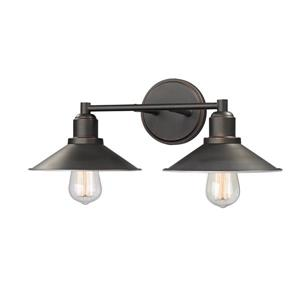Z-Lite Casa Olde Bronze 2-Light Bathroom Vanity Light